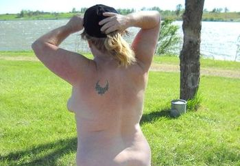 Wetcupcake camping naked #1