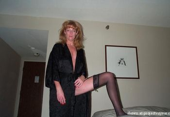 Black Stockings an garter