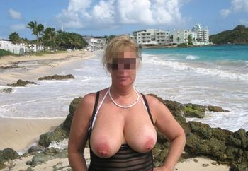 Suzy's Big Tits in Tiny Bikinis