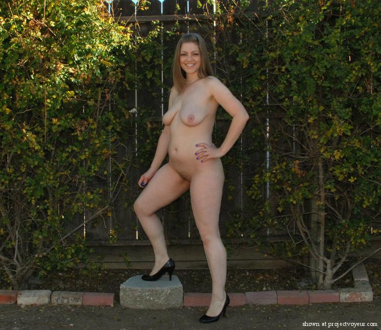 Backyard the Naked in