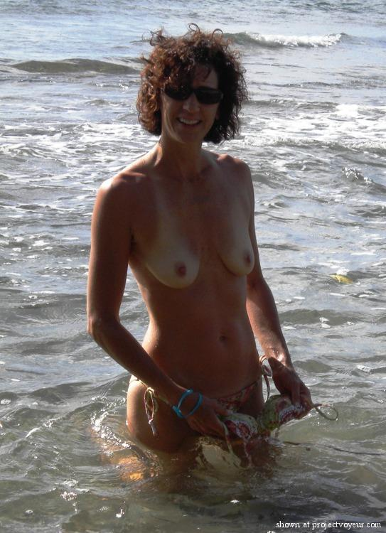 Nude oily boobs