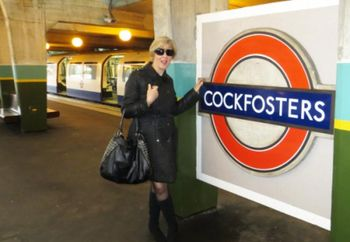 Modesty on the Tube