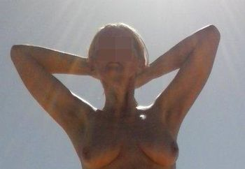 Jean in the sun