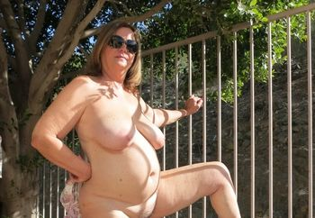 Remarkable, My wife naked outside topic