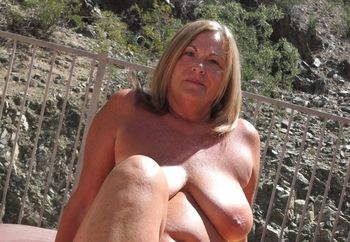 More of My Mature Wife Tanning