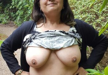 Boobs on show at stately home