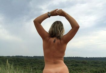 Brasilian girl first time at nude beach