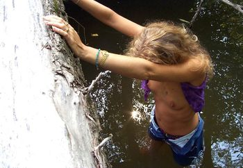 Ms_Mar wading the creek 2