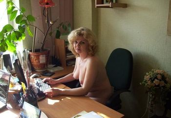 Oxana - office fun