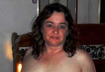 posing in corset