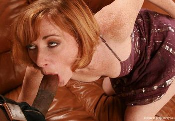 Redhead hottie Allison gets fucked