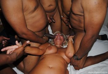 Another gang bang party