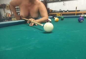 Playing a little pool