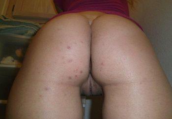 ass on display