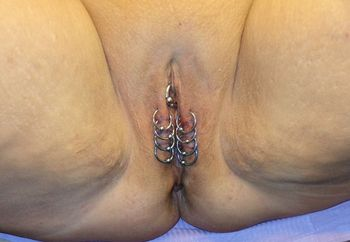 New Piercings for my wife