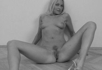 black & white pussy