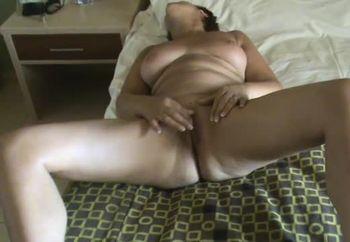 Wife self orgasm