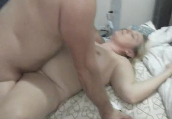 Enjoying a nice hard cock!!!