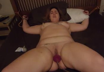 WHORE BECCA GETTING STRETCHED