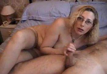 Tracy sucking her photographer