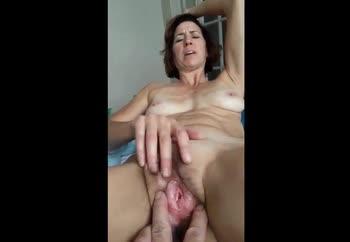 Cum on my sexy Wife