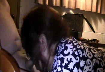 Gloria - Hands and Knees deep throating