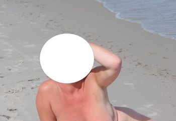 Wife On The Beach 4