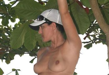 Meg : Nude In A Tree