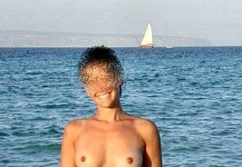 my lover on the beach