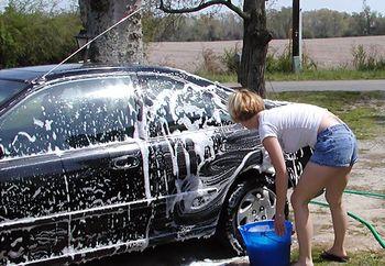 CW: sexy carwash
