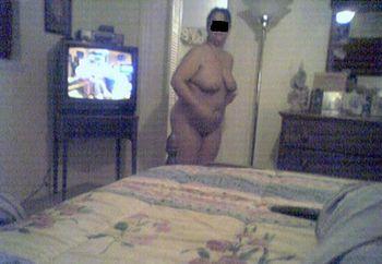 wifes tits & feet