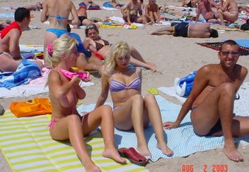 Northern Sea Romanian Girls On The Beach Part1