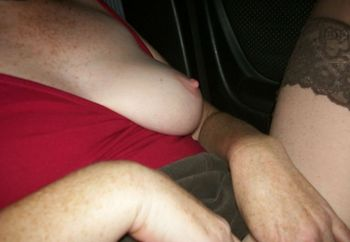 Uk Wife In Car