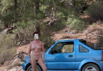 Nip: Uk Susan In Jeep