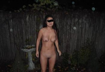 Asian Wife Outside
