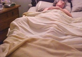 Sleeping Aussie Wife Playing