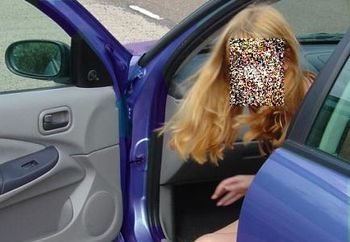 Nip: Out Flashing In The Car