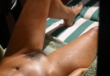 Sunbathing At Home #2