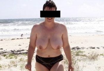 German Wife Nude At Beach