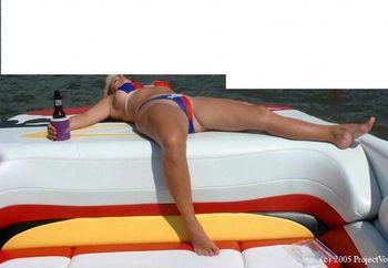 Sexy Wife Enjoying The Lake
