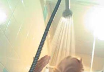 Gf In The Shower
