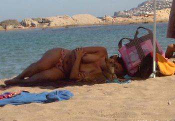 Sister On The Beach