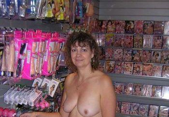 Nip: Lyndsey At An Adult Shop #2