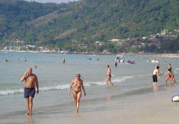 Patong Beach Petite Tits