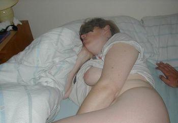 Meine Frau Schlafend