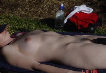 Wife Working On Tan