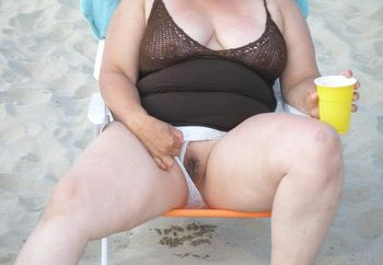 Wife At Beach