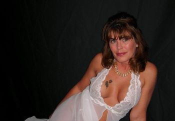 Milf In White Gown
