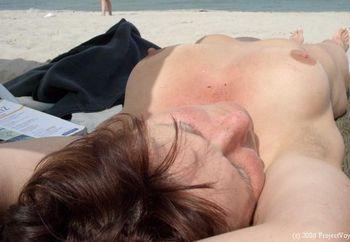...tina On The Beach
