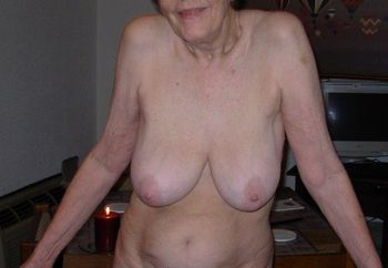 Naked 73 Yr Old Nudist Grandma
